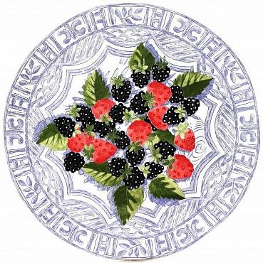 Блюдо для торта OISEAU BLEU – FRUITS