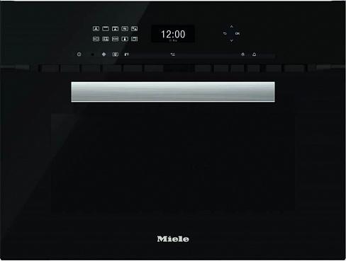 Духовой шкаф с СВЧ H6401BM OBSW черный обсидиан