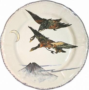 Тарелка GRANDS OISEAUX Canards en vol 1шт