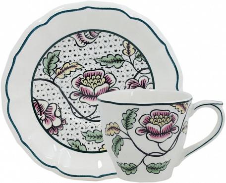 Чайная пара Roses Dominoté 2 шт