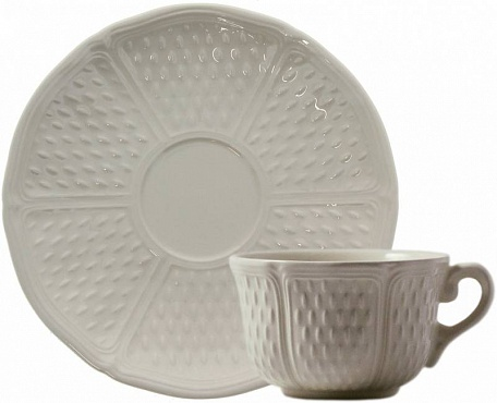 Чайная пара №2 PONT AUX CHOUX blanc 2шт