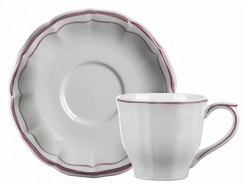 Чайная пара FILET COULEUR розовый 2шт
