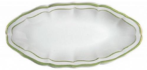 Блюдо для закусок FILET COULEUR зеленый