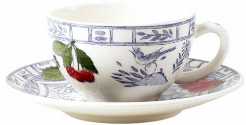 Чайная пара №2 OISEAU BLEU – FRUITS 2шт