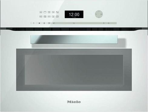 Духовой шкаф с СВЧ H6401BM BRWS бриллиантовый белый
