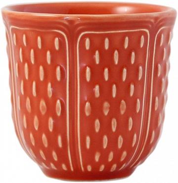 Чашки кофейные PETITS CHOUX terracotta 2шт